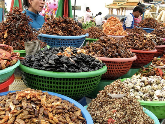 The cambodian market