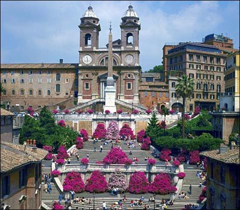 Staying near the Spanish Steps in Rome will drive up hotel rates.  Choose to stay and eat away from main attractions to save money.