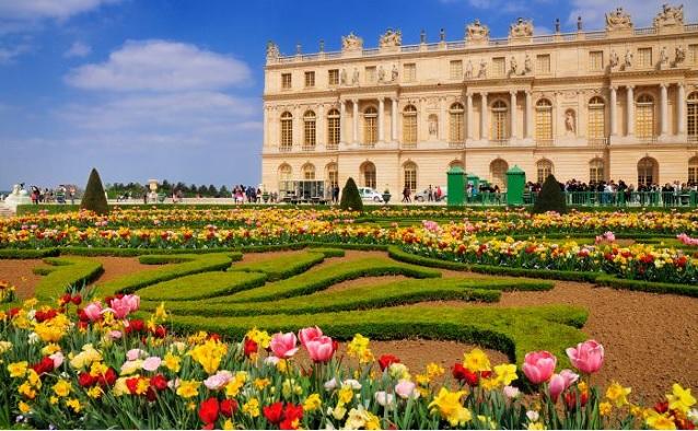 Versailles-in-spring