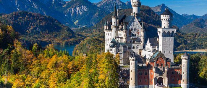 Il Castello di Neuschwanstein in Bavaria